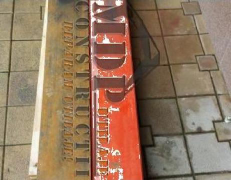 Lama Hardox pentru buldozer de la Magazinul De Piese Utilaje Srl