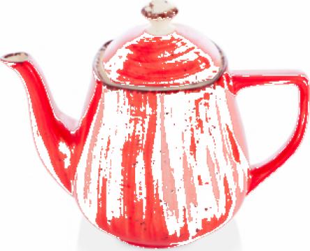 Ceainic Gural colectia Red 750ml de la Basarom Com