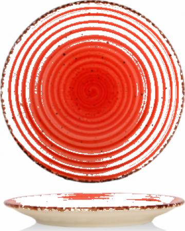 Farfurie desert Gural colectia Red 19cm de la Basarom Com