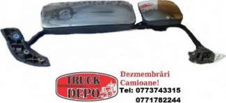 Oglinda stanga Mercedes-Benz Atego, piesa dezmembrari camion de la Truckdepo Srl
