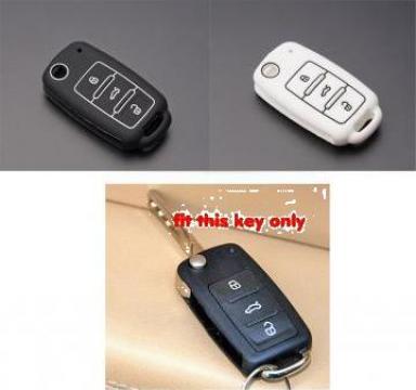 Husa cheie din silicon VW, Polo Bora, Beetle, Tiguan, Passat