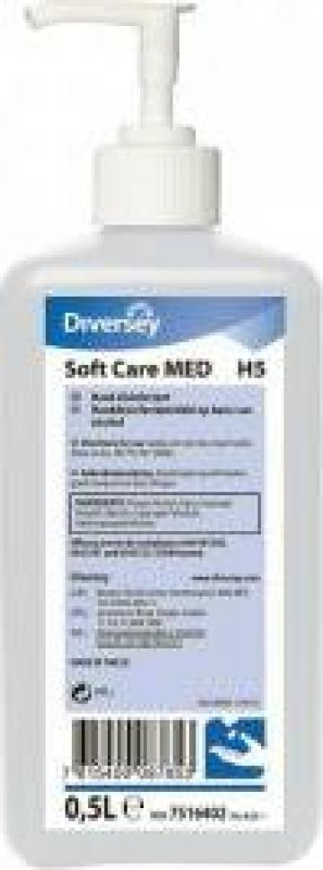 Gel dezinfectant Soft Care Med H5 - 500 ml