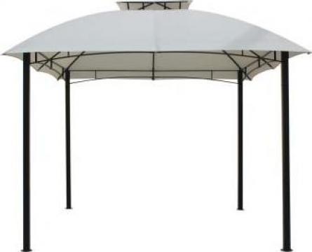 Pavilion, cort gradina Raki 3x3m cadru metalic bej de la Basarom Com