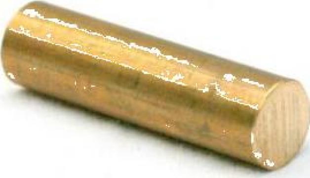 Bara alama rotunda 30x200mm CuZn39Pb3 CW614N