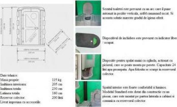 Toaleta ecologica pentru persoane cu handicap de la SC Toalete Ecologice SRL