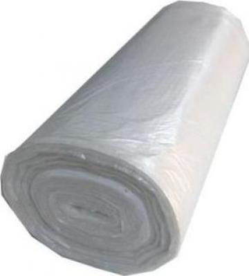 Saci menajeri HDPE 35 litri, 50 buc/rola, alb de la Cristian Food Industry Srl.