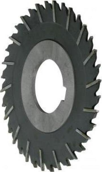 Freza disc cu trei taisuri dinti in zig zag125 X 4 X 32 de la Global Electric Tools SRL