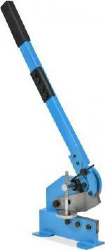 Foarfeca cu parghie pentru metal, 125 mm, Albastru de la Vidaxl