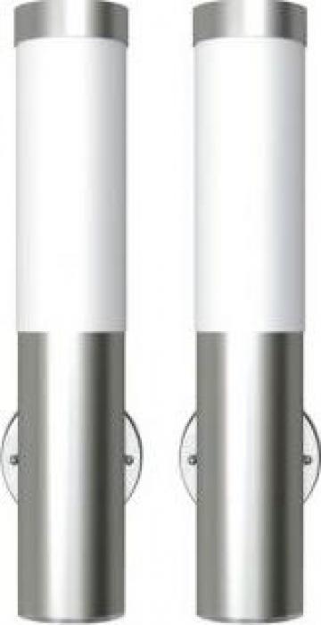 Lampa de exterior din otel inoxidabil 2 buc. de la Vidaxl