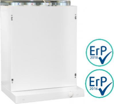 Unitate de ventilatie Ensy AHU 200 KH/KV de la HausEnergy Srl