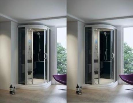 Cabina hidromasaj cu sauna umeda HTS 100 de la Herold Trade Srl