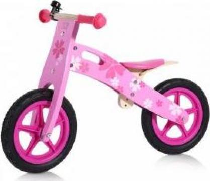 Bicicleta fara pedale pentru copii, Baby Vivo, roz de la Martin Velo Sport Srl