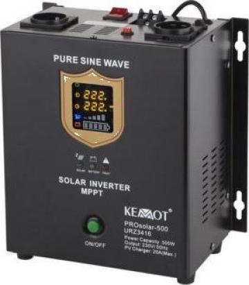 Invertor solar 500W 12V, Prosolar-500 Kemot de la Electro Supermax Srl