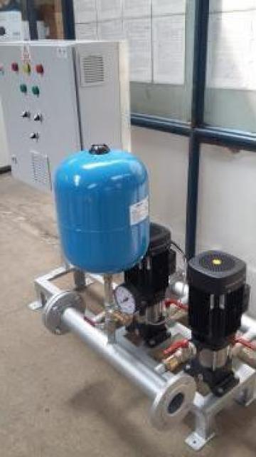 Grup pompare apa potabila de consum, 2 x 5 mch de la Master Engineering Srl