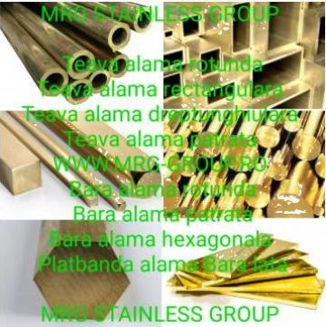 Bara alama rotunda 100mm AMS3 CW713R CuZn37Mn3Al2PbSi de la MRG Stainless Group Srl
