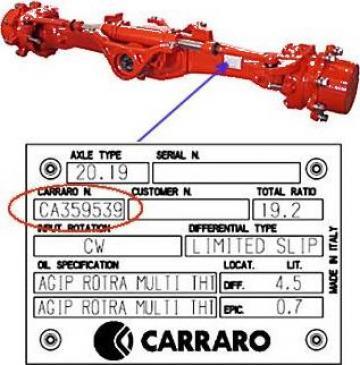 Piese Carraro 125150 - Tractor Ford 7810 de la Instalatii Si Echipamente Srl