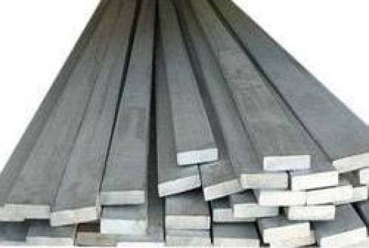 Platbanda aluminiu 20x10mm bara dreptunghiulara lata inox de la MRG Stainless Group Srl