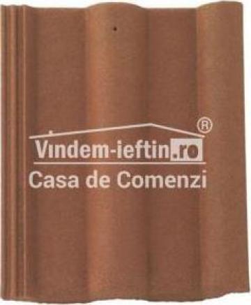 Tigla de beton 1/1 Bramac Natura Plus Maro Natural de la Vindem-ieftin.ro