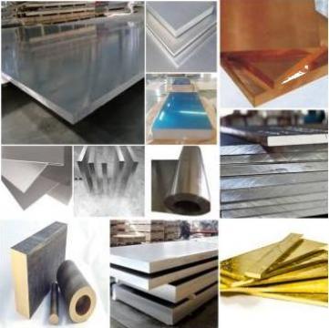 Platbanda aluminiu confectii metalice 50x5mm EN AW 6060 inox
