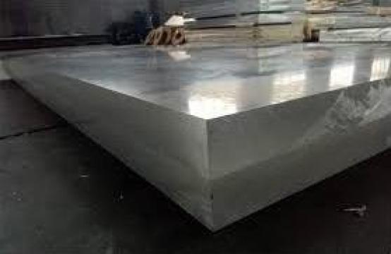 Tabla aluminiu 100mm placa duraluminiu dural alama inox