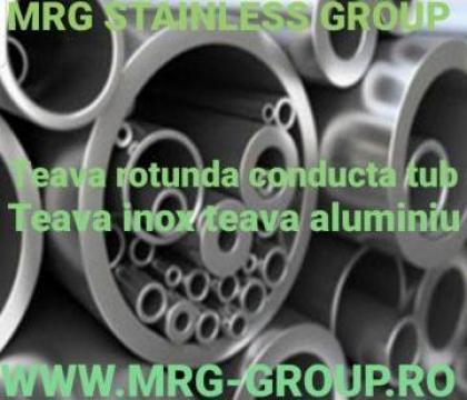 Teava inox 10x1.5mm teava aluminiu, cupru, alama de la MRG Stainless Group Srl
