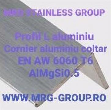 Profil L aluminiu 120x80x3mm, cornier aluminiu