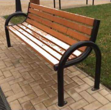 Banca parc stradala B 04 de la Miracons Proiect Srl