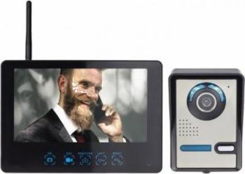 Interfon video wireless Secutek STZ-DB006