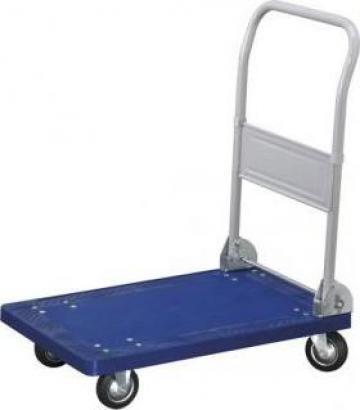 Carucior platforma PVC maipulare marfa 150 kg C150 de la Proma Machinery Srl.