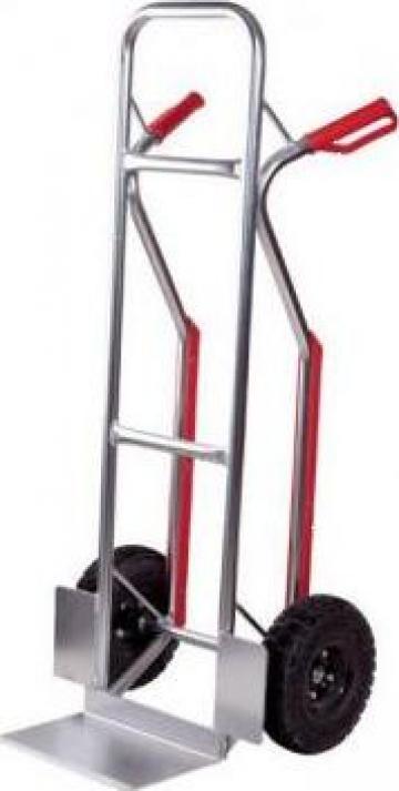 Carucior pentru marfa cu roti 200 kg C182 de la Proma Machinery Srl.