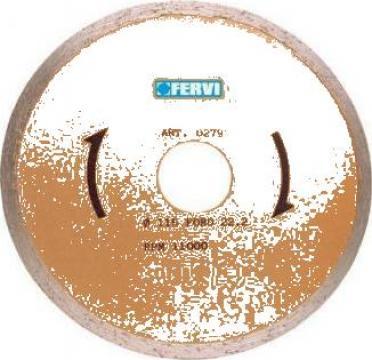 Disc diamantat 115 mm pentru placi ceramice 0279 de la Proma Machinery Srl.