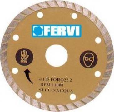 Disc diamantat 115 mm turbo 0349 de la Proma Machinery Srl.