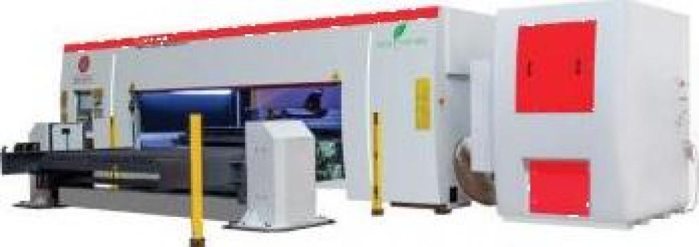 Masina debitat tabla cu laser FL3015 ECO de la Proma Machinery Srl.