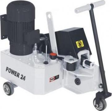 Masina hidraulica de debitat otel beton Power 24 de la Proma Machinery Srl.