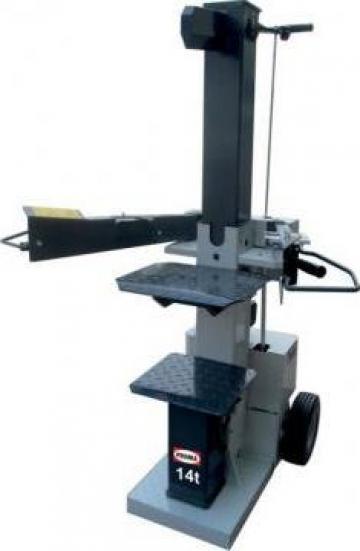 Masina pentru despicat lemne HSP-14/450 de la Proma Machinery Srl.