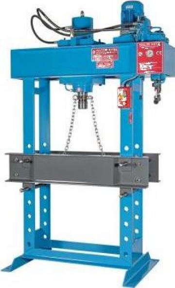 Presa hidraulica pentru atelier mecanice HD 60PM de la Proma Machinery Srl.