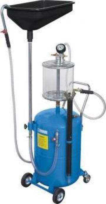 Recuperator de ulei pneumatic/aspiratie 0596 de la Proma Machinery Srl.