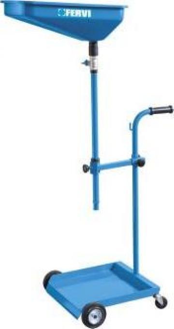 Recuperator de ulei pneumatic/aspiratie fara rezervor 0594 de la Proma Machinery Srl.