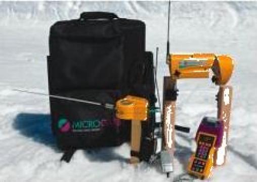 Sistem de cronometrare schi alpin wireless cu fotocelule