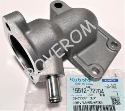 Carcasa termostat Kubota V2203, V2403, Carrier CT4.134 de la Roverom Srl