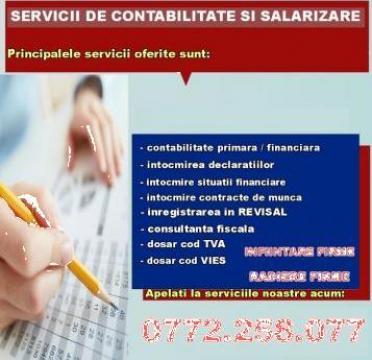 Servicii contabilitate, Revisal, salarii - Craiova