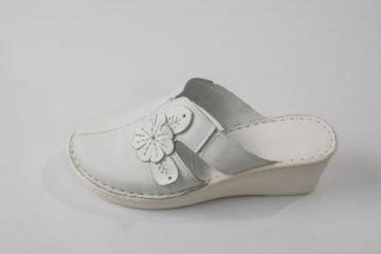 Papuci femei piele 6009 ortopedici
