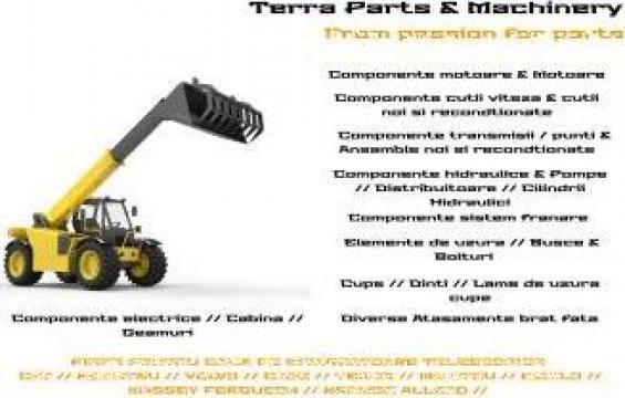 Piese incarcatoare telescopice de la Terra Parts & Machinery Srl