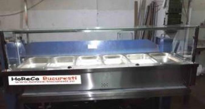 Vitrina calda inox (bain marie) 4 GN 1/1 de banc de la Distal Mark Srl