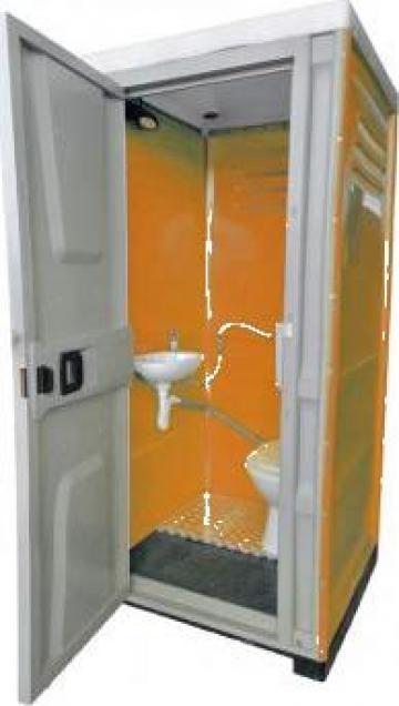 Toaleta cabina ecologica racordabila cu lavoar ICTET03P/R