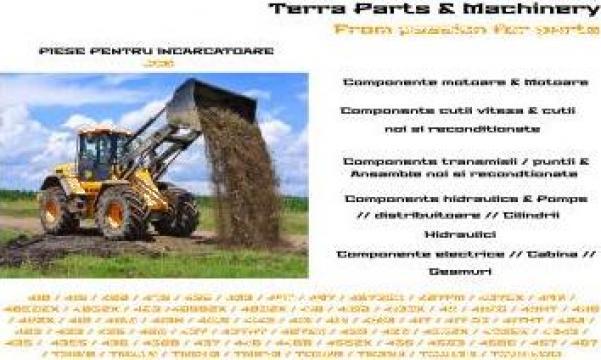 Piese incarcator Vola JCB de la Terra Parts & Machinery Srl
