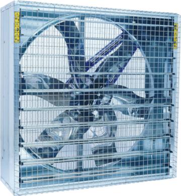 Ventilator industrial 42400m3/h Euroemme de la Andra Engineering