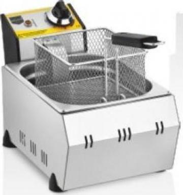 Friteuza inox electrica 8 LT/11 LT de banc de la Distal Mark Srl