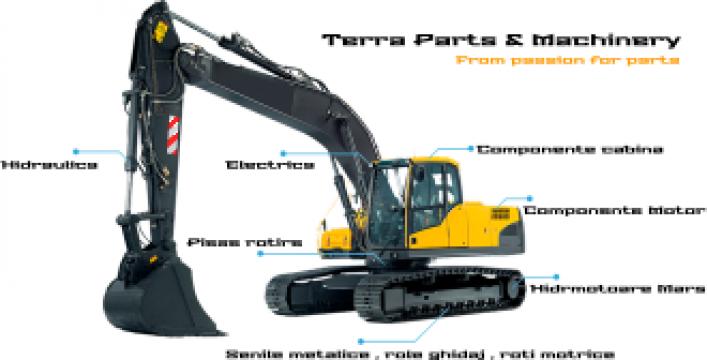 Piese Liebherr - A910 A912 A913 A914 A916 A918 A920 A922 de la Terra Parts & Machinery Srl