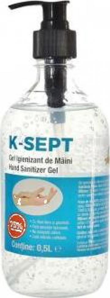 Gel dezinfectant de maini K-Sept 0.5 litri de la Kynita Srl